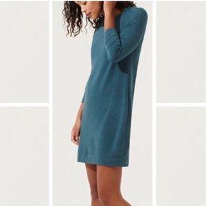 Lou & Grey Teal Sweater Dress